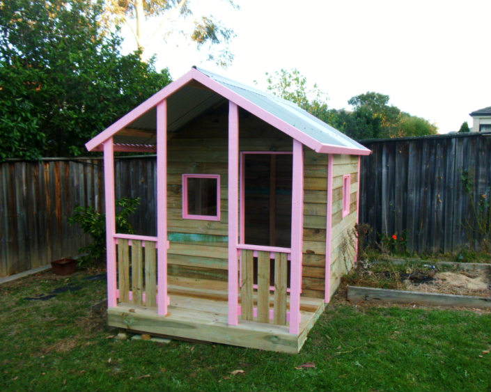Pink Cubby House Kellyville Will S Cubbies And Cabins