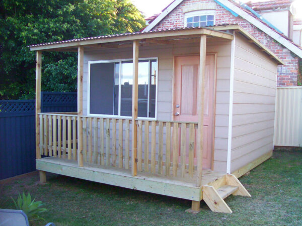 cabin studio home study