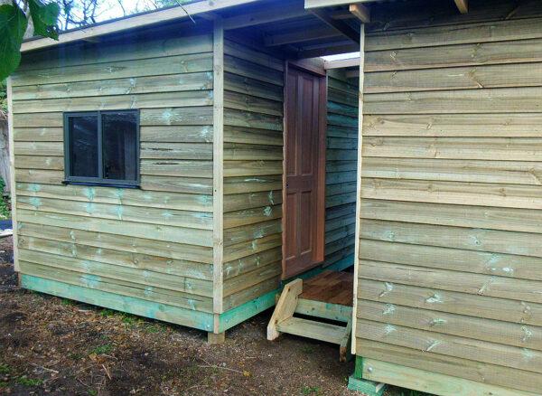 cabin studio hobby room