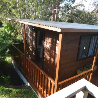 cabin studio stained sydney