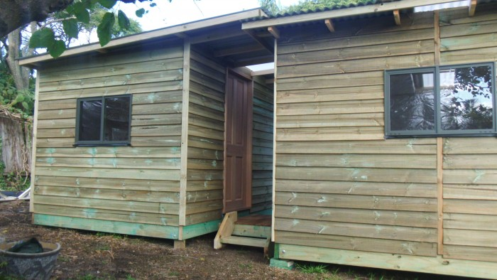 cabin acq cladding