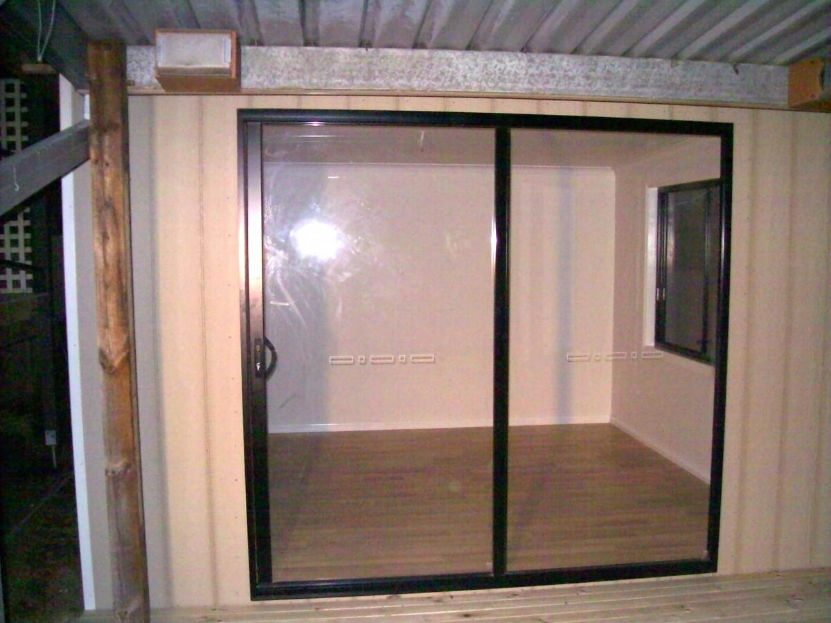 cabin sliding door