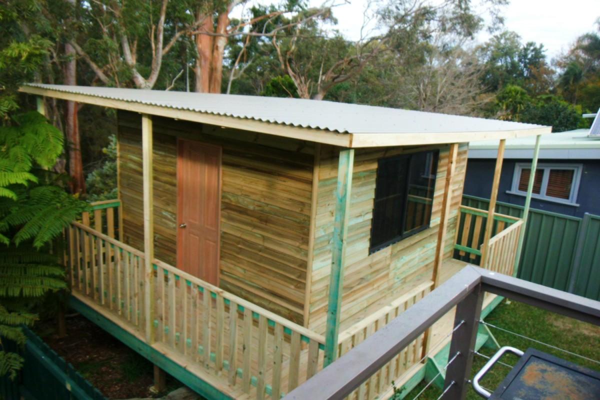 cabin studio verandah sydney
