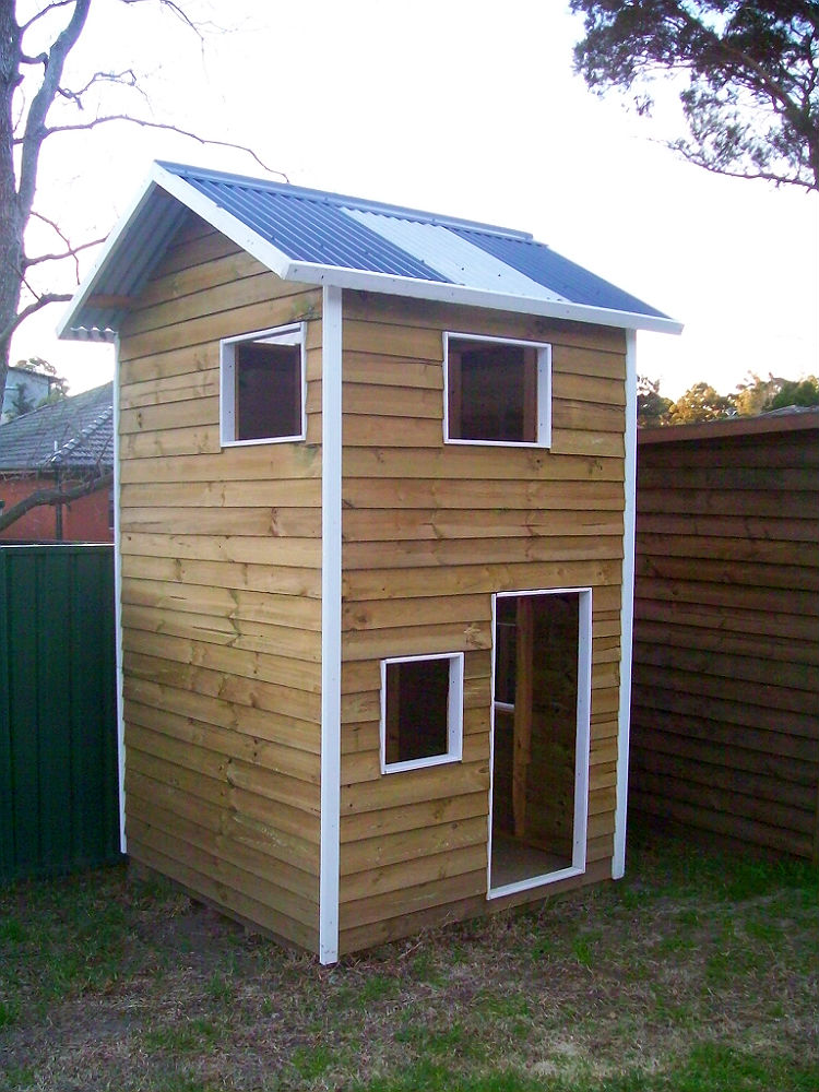 two story cubby