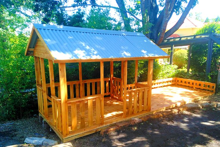 cubby house fort Sunshine coast