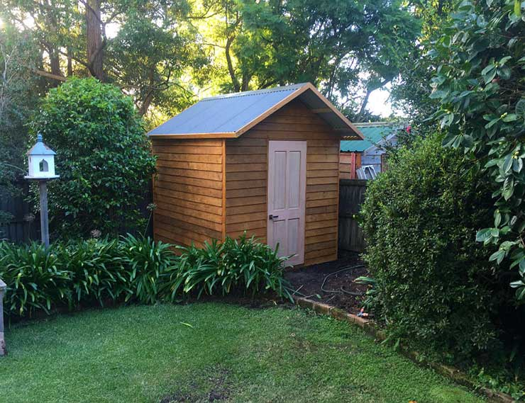 flat-packed garden shed kits Sydney