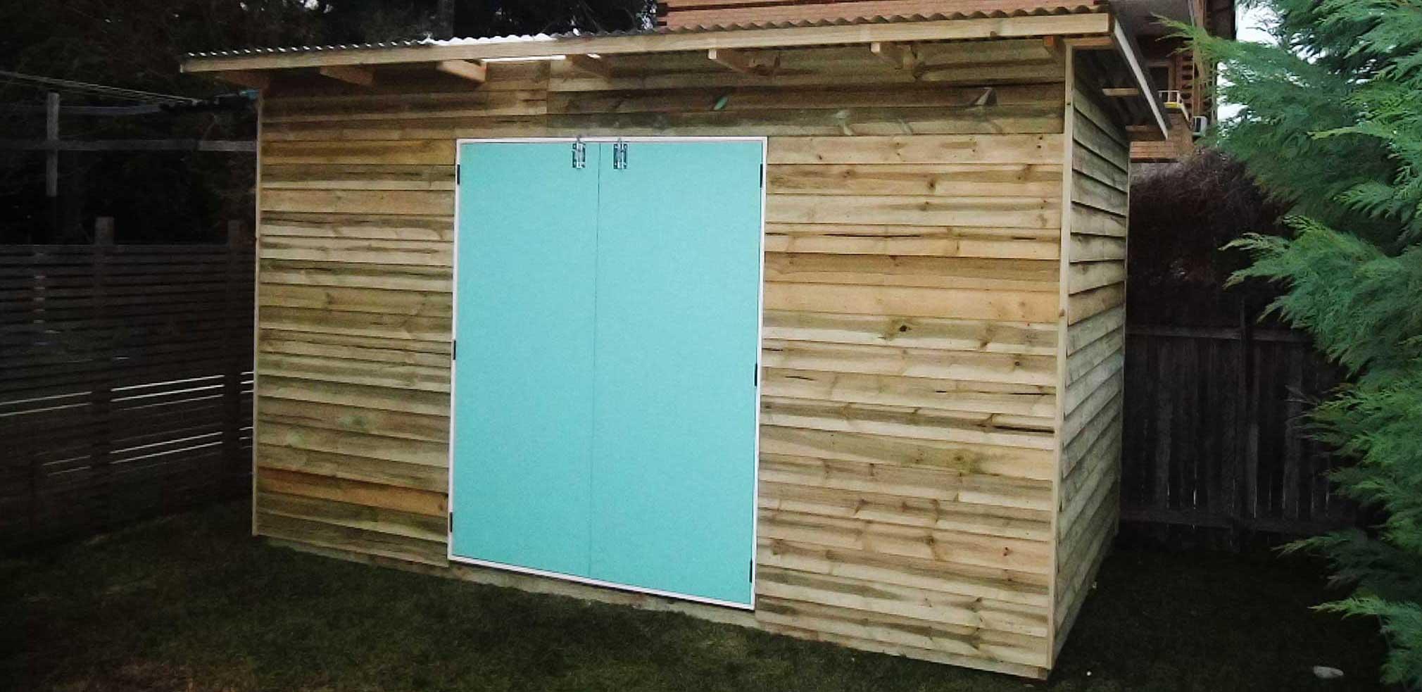 timber garden shed sydney