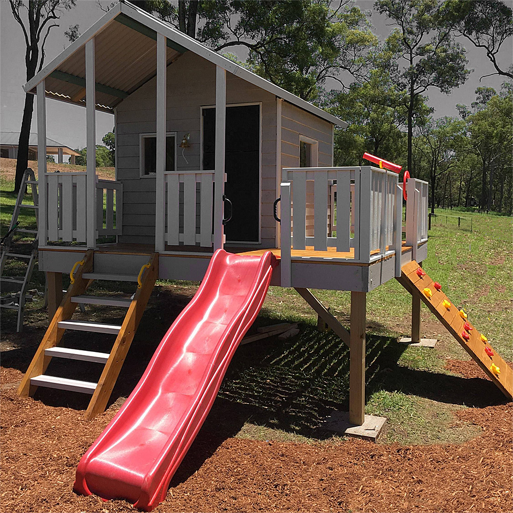 brisbane cubbies, available as flat pack diy cubbyhouse kits or fully installed