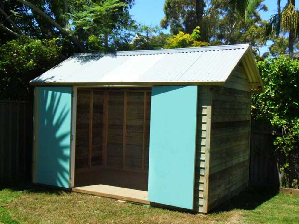 bespoke shed, any size- any design, can be delivered, installed or supplied as flat pack