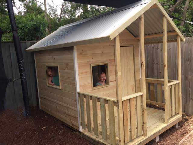 Australian made timber cubby house kit