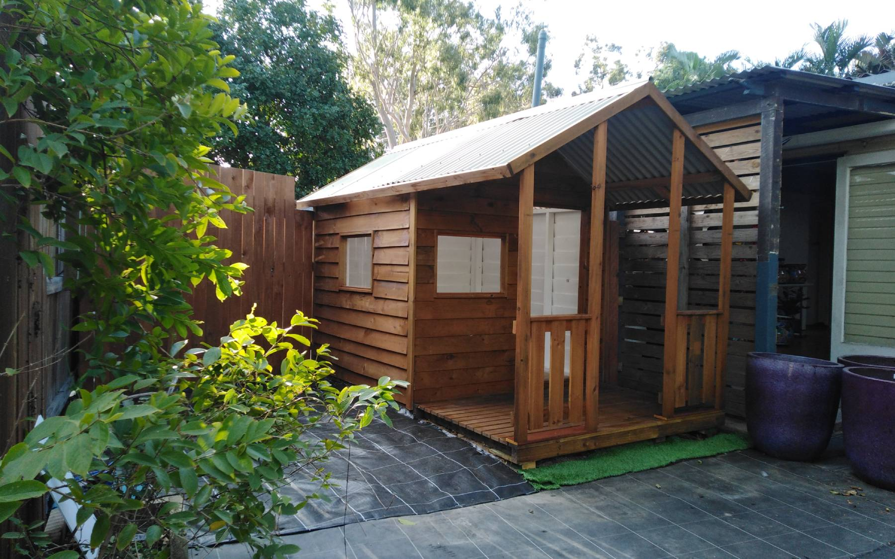 cubby houses and sheds in Brisbane Southside