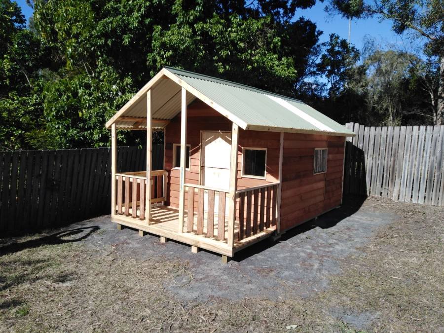 ground level cubby house