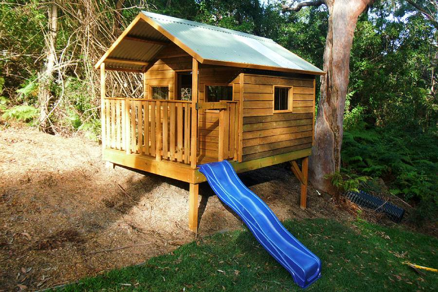 extra large cubby house, can be delivered, installed or flat pack supplied