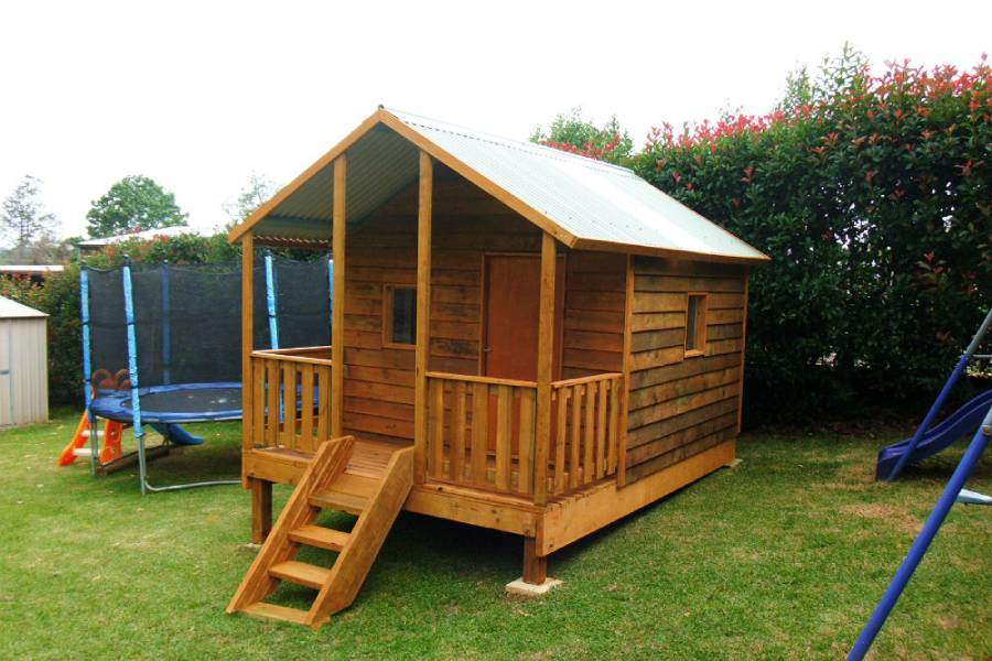 large cubby house